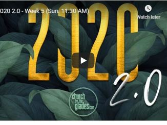 Church By The Glades Sunday Live Service June 21 2020