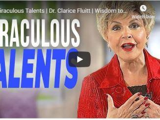 Dr. Clarice Fluitt - Miraculous Talents - June 9 2020