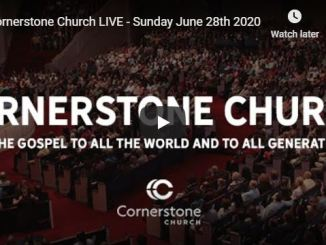Cornerstone Church Sunday Live Service June 28 2020