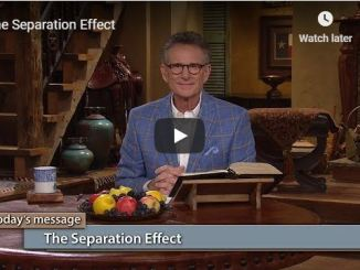 George Pearsons Message - The Separation Effect - June 1 2020