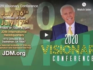 Jesse Duplantis 2020 Visionary Conference - July 16 & 17