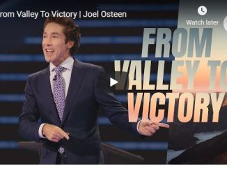 Joel Osteen Sermon - From Valley To Victory - June 29 2020