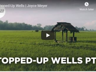 Joyce Meyer Sermon - Stopped-Up Wells - June 29 2020