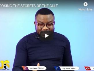 Pastor Jay Israel - Exposing The Secrets Of The Cult - June 28 2020