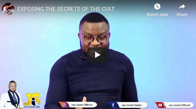 Pastor Jay Israel - Exposing The Secrets Of The Cult - June 28 2020
