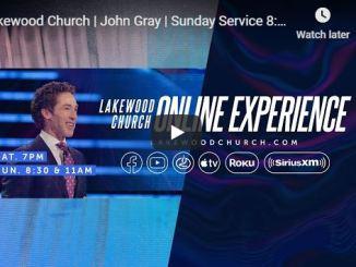 John Gray Sunday Live Service June 28 2020