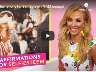 Terri Savelle Foy - Affirmations for Self Esteem - I AM enough - June 2020