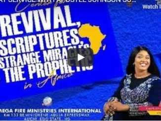 Apostle Johnson Suleman Sunday Live Service July 19 2020