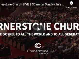 Cornerstone Church Sunday Live Service July 19 2020