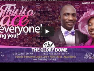 Dunamis Church Sunday Live Service July 19 2020 With Paul Enenche