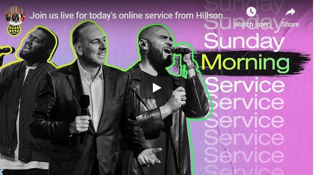 Hillsong Church Sunday Live Service July 5 2020
