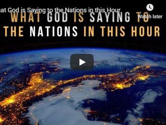 Jennifer Leclaire Sermon - What God is Saying to the Nations in this Hour