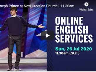 Joseph Prince Live at New Creation Church Sunday Service July 26 2020