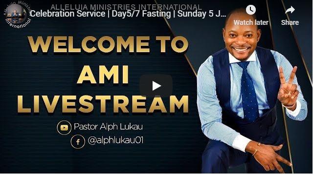 Pastor Alph Lukau Sunday Live Service July 5 2020 - Day 5 of Fasting