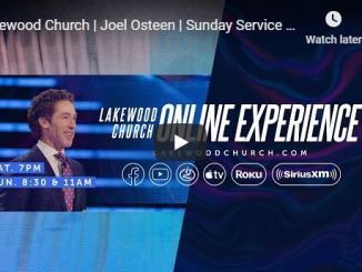 Pastor Joel Osteen Sunday Live Service July 12 2020 In Lakewood Church
