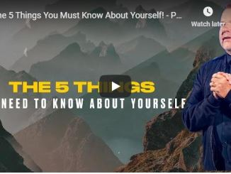 Phil Munsey Sermon - The 5 Things You Must Know About Yourself - 2020