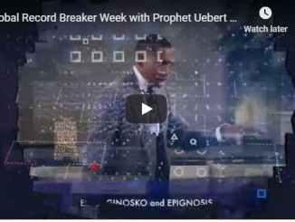 Prophet Uebert Angel - Global Record Breaker Week - 2020