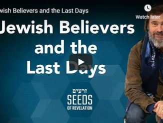 Rabbi Schneider Sermon - Jewish Believers and the Last Days - July 2020