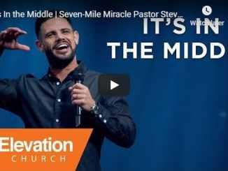 Steven Furtick Sermon - It's In the Middle - July 29 2020