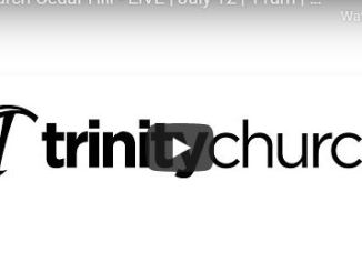 Trinity Church Cedar Hill Sunday Live Service July 26 2020