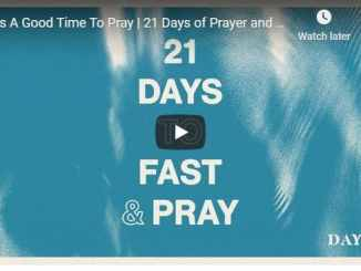 Day 2 of 21 Days of Prayer and Fasting With Pastor Jentezen Franklin