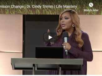 Dr. Cindy Trimm - Envision Change - Life Mastery Session