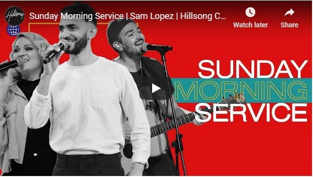 Hillsong Church Sunday Live Service August 2 2020