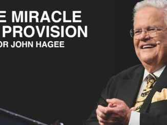 John Hagee - The Miracle of Provision - August 30 2020