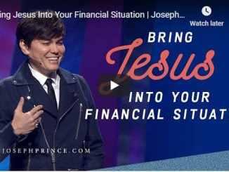 Joseph Prince Sermon 2020