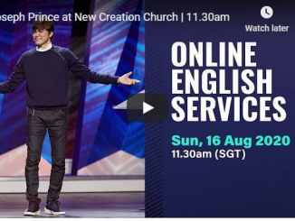 Joseph Prince Sunday Live Service August 16 2020 At New Creation
