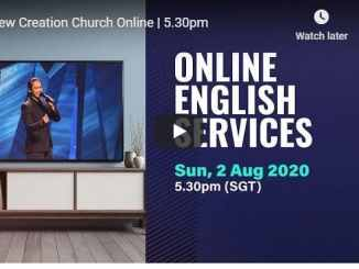 Joseph Prince Sunday Live Service August 2 2020 In New Creation Church