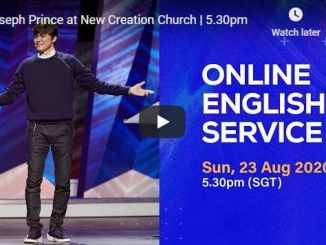 Joseph Prince Sunday Live Service August 23 2020 At New Creation Church