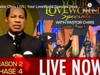 Pastor Chris - Your LoveWorld Specials Season 2 Phase 4 - DAY 7
