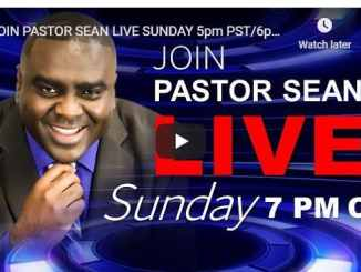 Pastor Sean Pinder Sunday Live Service August 16 2020