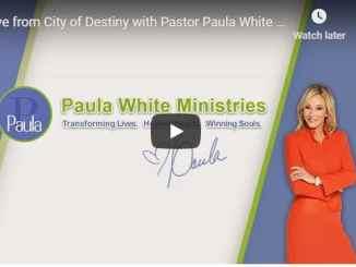Paula White Sunday Live Service August 30 2020