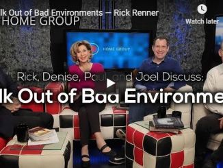 Rick Renner Sermon - Walk Out of Bad Environments - August 2020