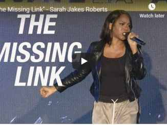 Sarah Jakes Roberts - The Missing Link