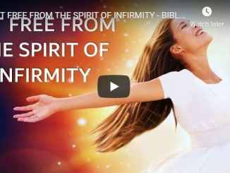 Sean Pinder Sermon - Set Free From The Spirit Of Infirmity - August 2020