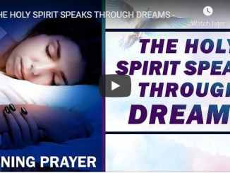 Sean Pinder - The Holy Spirit Speaks Through Dreams - Morning Prayer