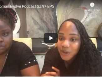 Woman Evolve Podcast Season 7 Episode 5 - Sarah Jakes Roberts