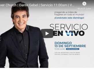 Dante Gebel Sunday Live Service September 13 2020 At River Church