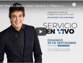 Dante Gebel Sunday Live Service September 20 2020