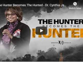 Dr. Cynthia James - The Hunter Becomes The Hunted - September 2020