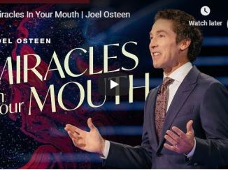Joel Osteen - Miracles In Your Mouth - September 7 2020
