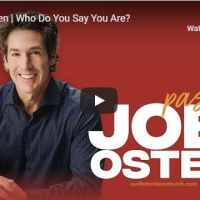 Joel Osteen - Who Do You Say You Are? - Relentless Church 2020