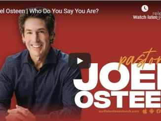 Joel Osteen Relentless Church September 2020