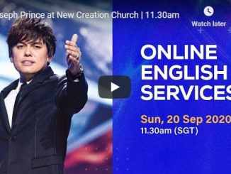 Joseph Prince at New Creation Church Service September 20 2020