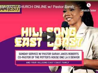 Pastor Sarah Jakes Roberts Live At Hillsong East Coast September 6 2020