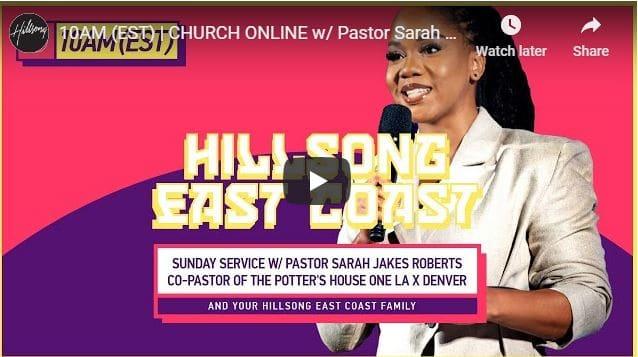 Pastor Sarah Jakes Roberts Live At Hillsong East Coast September 6 2020