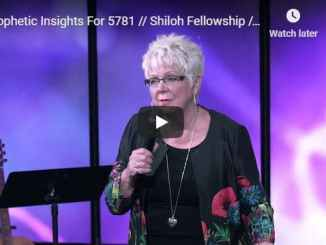 Patricia King - Prophetic Insights For 5781 - September 2020